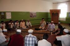 Встреча ал-гайских мусульман с муфтием Саратовской области Мукаддас-хазратом Бибарсовым
