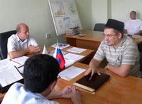 на встрече с заместителем главы администрации Ал-Гайского района
