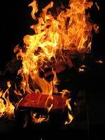 Сжигать книги