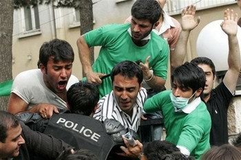 <Беспорядки в Иране