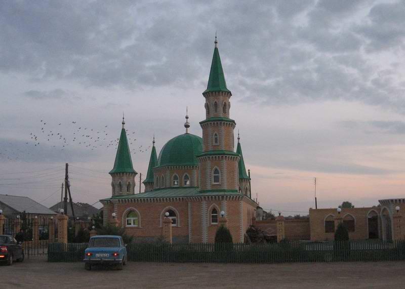 Мечеть в п. Знаменский