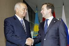 Медведев и Каримов