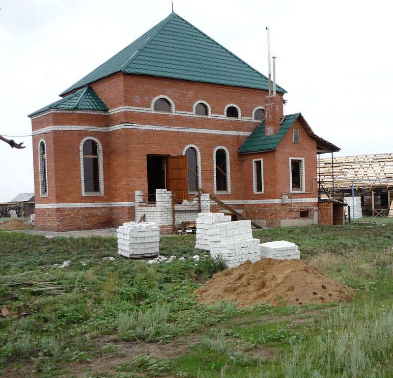 Мечеть в п. им. Карла Маркса