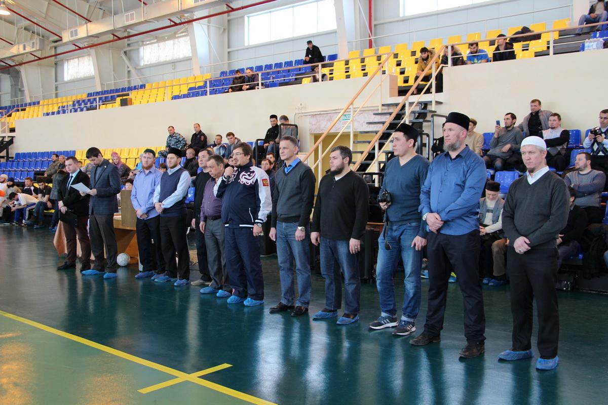 Приветствие  команд  турнира. Балаково. 14.03.2015