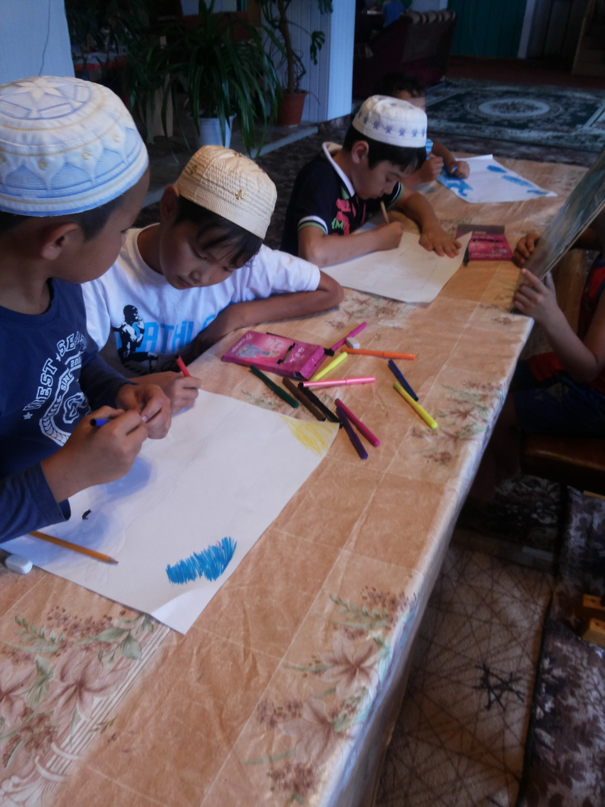 Конкурсы художников в лагере